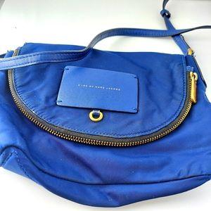Marc jacobs purse cobalt blue small crossbody